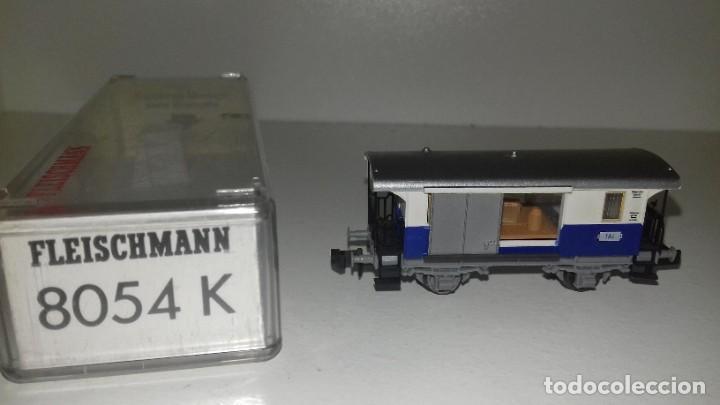 Trenes Escala: FLEISCHMANN N loco 7969 con limpiavias y 3 vagonesL44-117(C/ compra de 5 lotes o mas envío gratis) - Foto 5 - 187098967