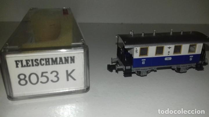 Trenes Escala: FLEISCHMANN N loco 7969 con limpiavias y 3 vagonesL44-117(C/ compra de 5 lotes o mas envío gratis) - Foto 6 - 187098967