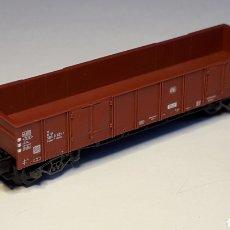 Trenes Escala: VAGÓN BORDE MEDIO 4 EJES DB, FLEISCHMANN MADE IN GERMANY, ESC. N, ORIGINAL AÑOS 90.. Lote 188769613
