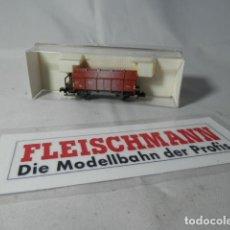 Trenes Escala: VAGÓN BORDE ALTO ESCALA N DE FLEISCHMANN . Lote 190881966