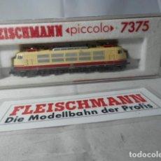 Trenes Escala: LOCOMOTORA ELECTRICA DE LA DB ESCALA N DE FLEISCHMANN . Lote 190909697
