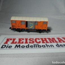 Trenes Escala: VAGÓN CERRADO ESCALA N DE FLEISCHMANN . Lote 190935560
