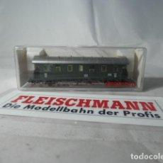 Trenes Escala: VAGÓN PASAJEROS 2 EJES ESCALA N DE FLEISCHMANN . Lote 190936720