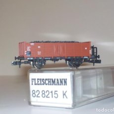 Trenes Escala: 2 VAGONES FLEISCHMAN 82 8215 KDE MERCANCÍAS NUEVOS ESCALA N . Lote 191876805