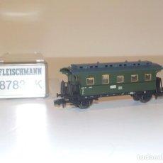 Trenes Escala: VAGON PASAJEROS ÉPOCA DE LOS 50 FLEISCHMAN 8783 EN ESCALA N. Lote 191877697