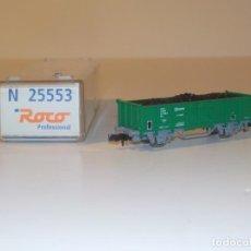 Trenes Escala: VAGON MERCANCIAS ROCO 25553 EN ESCALA N. Lote 191878380