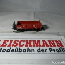 Trenes Escala: VAGÓN BORDE BAJO ESCALA N DE FLEISCHMANN . Lote 192293565