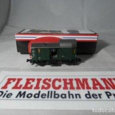 Trenes Escala: VAGÓN FURGON ESCALA N DE FLEISCHMANN . Lote 192374845
