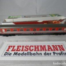 Trenes Escala: VAGÓN PASAJEROS DE LA DB ESCALA N DE FLEISCHMANN . Lote 192377092