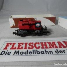 Trenes Escala: VAGÓN CISTERNA ESCALA N DE FLEISCHAMN . Lote 192377690