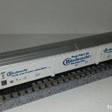Trenes Escala: FLEISCHMANN N CERRADO 4 EJES L44-238 (CON COMPRA DE 5 LOTES O MAS ENVÍO GRATIS). Lote 192909281