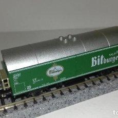Trenes Escala: FLEISCHMANN N CERVECERO L44-244 (CON COMPRA DE 5 LOTES O MAS ENVÍO GRATIS). Lote 193010443
