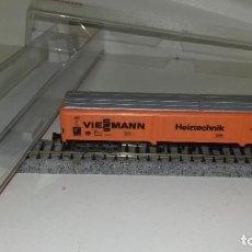 Trenes Escala: FLEISCHMANN N CERRADO 4 EJES 8386 L44-272 (CON COMPRA DE 5 LOTES O MAS ENVÍO GRATIS). Lote 193258326