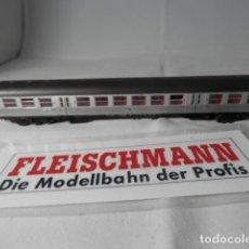 Trenes Escala: VAGÓN PASAJEROS DE LA DB ESCALA N DE FLEISCHMANN . Lote 193764128