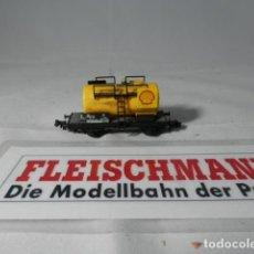 Trenes Escala: VAGÓN CISTERNA ESCALA N DE FLEISCHMANN . Lote 193793825