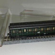 Trenes Escala: FLEISCHMANN N PASAJEROS PRUSIANO 4 EJES 8087 L44-274 (CON COMPRA DE 5 LOTES O MAS ENVÍO GRATIS). Lote 194071296