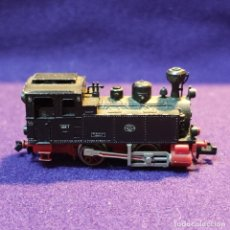 Trenes Escala: LOCOMOTORA A VAPOR LOK 7 MAFFEI 1909. FLEISCHMANN PICCOLO. MADE IN GERMANY. ESCALA N. TREN.. Lote 194137242