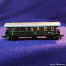 Trenes Escala: VAGON DE PASAJEROS DB BONN. 8061 - 8062. FLEISCHMAN PICCOLO. GERMANY. ESCALA N. TREN.. Lote 194139507