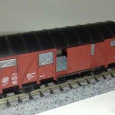 Trenes Escala: FLEISCHMANN N CERRADO PUERTAS CORREDERAS L44-281 (CON COMPRA DE 5 LOTES O MAS ENVÍO GRATIS). Lote 194323443