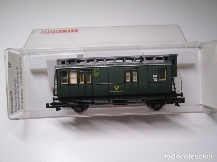 FLEISCHMANN N 8050. VAGON CORREO (Juguetes - Trenes a Escala N - Fleischmann N)