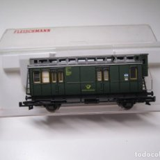 Trenes Escala: FLEISCHMANN N 8050. VAGON CORREO. Lote 195213691