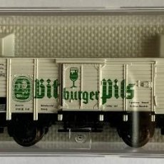 Trenes Escala: FLEISCHMANN 8362 BITBURGER PILS. Lote 202587107