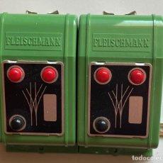 Trenes Escala: FLEISCHMANN - 2 X 6925 - DESVÍO TRIPLE. Lote 203383948