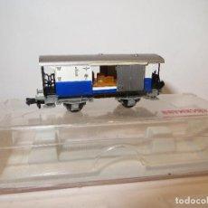 Trenes Escala: FLEISCHMANN VAGON FURGON EDELWEIS MUY BUEN ESTADO EN CAJA REF. 8054,REGALADO. Lote 203498898