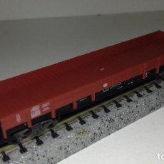 Trenes Escala: FLEISCHMANN N BORDE BAJO 4 EJES L45- 107 (CON COMPRA DE 5 LOTES O MAS ENVÍO GRATIS). Lote 203618525
