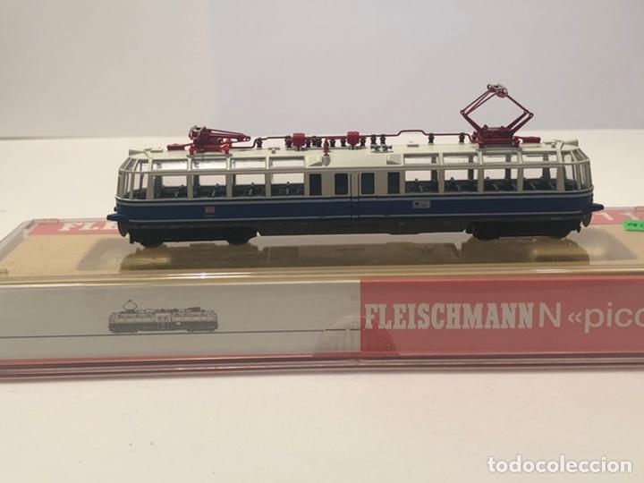 FLEISCHMANN LOCOMOTORA PICCOLO REFERENCIA 7411, ESCALA N (Juguetes - Trenes a Escala N - Fleischmann N)