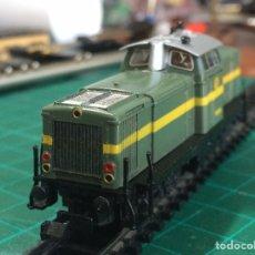 Trenes Escala: LOCOMOTORA FLEISCHMANN CON LUZ. Lote 204634511