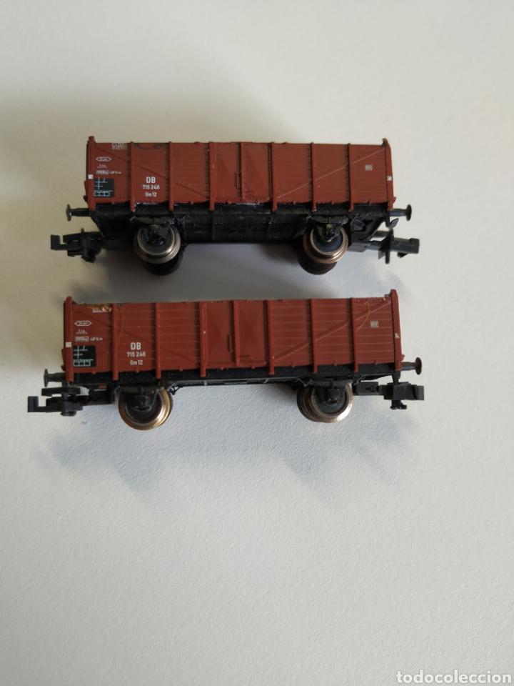 Trenes Escala: 2 vagones borde alto fleischmann escala N - Foto 2 - 208677640