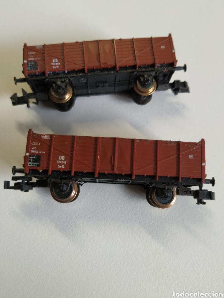 Trenes Escala: 2 vagones borde alto fleischmann escala N - Foto 3 - 208677640