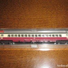 Trenes Escala: TRES VAGONES FLEISCHMANN ESCALA N. REFERENCIAS 8163, 8166, 8168. Lote 211511719