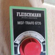 Trenes Escala: TRANSFORMADOR Y CONTROLADOR REF. MSF-TRAFO 6735 ** FLEISCHMANN. Lote 211575672