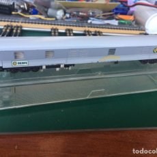 Trenes Escala: VAGON CORREOS CON LUCES LED. Lote 213754726