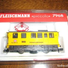 Trenes Escala: LOCOMOTORA DE LIMPIEZA DE RAÍLES 740 001-0 FLEISCHMANN PICCOLO REF. 7968. ESCALA N. Lote 214136292