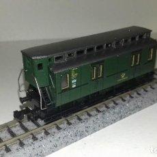 Trenes Escala: FLEISCHMANN N FURGÓN PRUSIANO CORREOS GARITA -- L46-133 (C/ COMPRA 5 LOTES O MAS, ENVÍO GRATIS). Lote 214833336