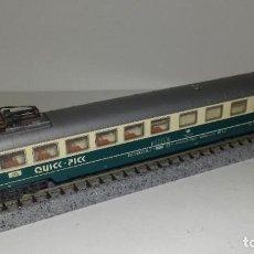 Trenes Escala: FLEISCHMANN N RESTAURANTE QUICC-PICC -- L46-186 (CON COMPRA DE 5 LOTES O MAS, ENVÍO GRATIS). Lote 215472147