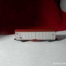 Trenes Escala: VAGÓN CERRADO ESCALA N DE FLEISCHMANN. Lote 218044536