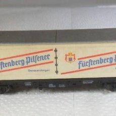 Trenes Escala: N - FLEISCHMANN - VAGON TRANSPORTE CERVEZA. Lote 218616518
