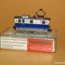 Trenes Escala: ANTIGUA LOCOMOTORA ELÉCTRICA EDELWEISS EN ESCALA *N* REF. 7969 DE FLEISCHMANN PICCOLO. Lote 219295903