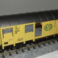 Trenes Escala: FLEISCHMANN N CERRADO PUERTAS CORREDERAS -- L46-307 (CON COMPRA DE 5 LOTES O MAS, ENVÍO GRATIS). Lote 220274156