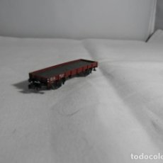 Trenes Escala: VAGÓN BORDE BAJO ESCALA N DE FLEISCHAMNN. Lote 220985801