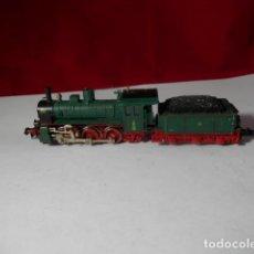 Trenes Escala: LOCOMOTORA VAPOR ESCALA N DE FLEISCHMANN. Lote 222789805