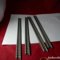 Trenes Escala: LOTE VIAS ESCALA N DE FLEISCHMANN. Lote 222820430