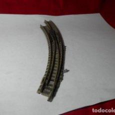 Trenes Escala: DESVIO EN CURVA ESCALA N DE FLEISCHMANN. Lote 222946817