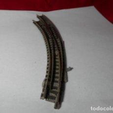 Trenes Escala: DESVIO EN CURVA ESCALA N DE FLEISCHMANN. Lote 222946877