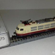 Trenes Escala: FLEISCHMANN N LOCOMOTORA ELÉCTRICA REF 7375--- L47-057 (CON COMPRA DE 5 LOTES O MAS, ENVÍO GRATIS). Lote 231210615