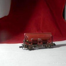 Comboios Escala: VAGÓN TOLVA ESCALA N DE FLEISCHMANN. Lote 232471328
